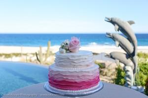 pink ruffle