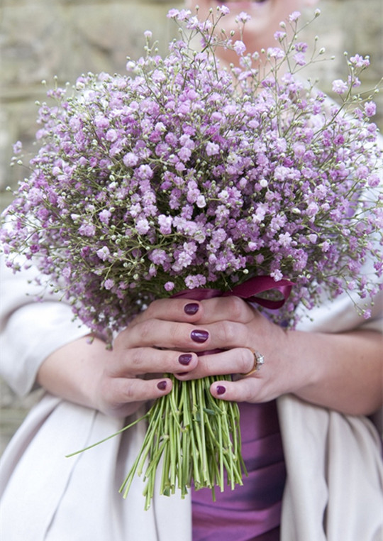 3-Bouquet-Inspired Manicure-ideas-wedding-2016
