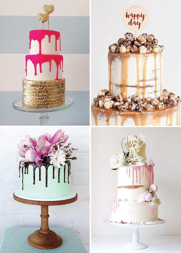 Colour-drip-wedding-cakes