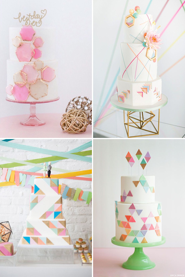 geometric-wedding-cakes-inspiration